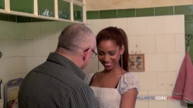 young blacked girl fucked by an hot man