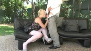 Russian oligarch fucking blonde maid.mp4